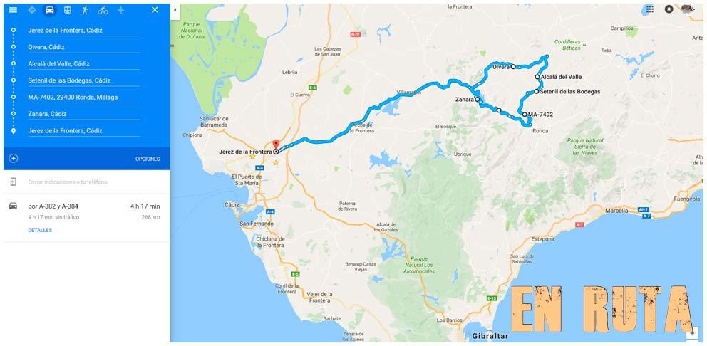Ruta dominguera por Setenil de las Bodegas desde Ronda