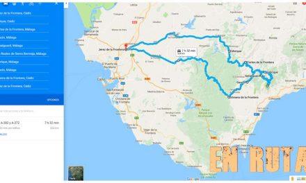 Ruta motera a Los Reales de Sierra Bermeja
