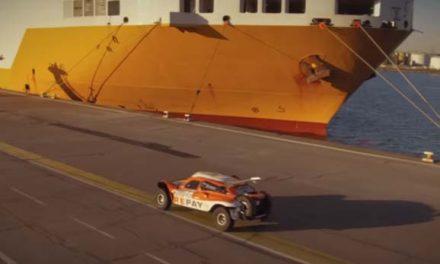 Verificaciones técnicas y embarque del Dakar 2017