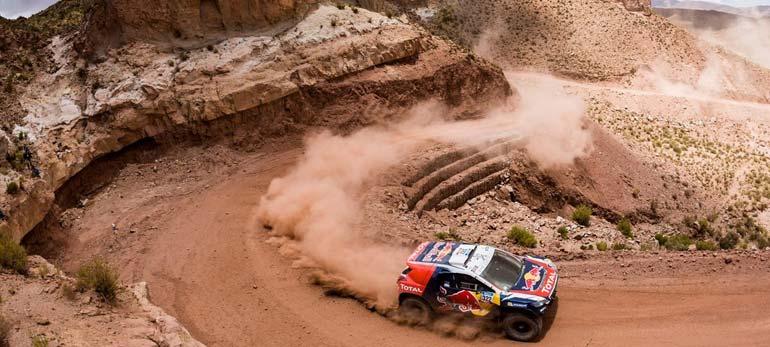Recorrido Dakar 2017