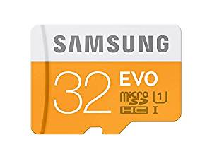 Tarjeta de memoria Samsung Evo Micro SDHC (UHS-I, Grade 1, Clase 10)
