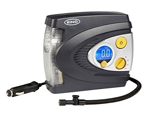 Ring RAC635 Compresor de aire digital con luz LED