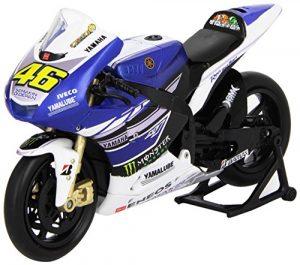 Moto miniatura Yamaha Valentino Rossi