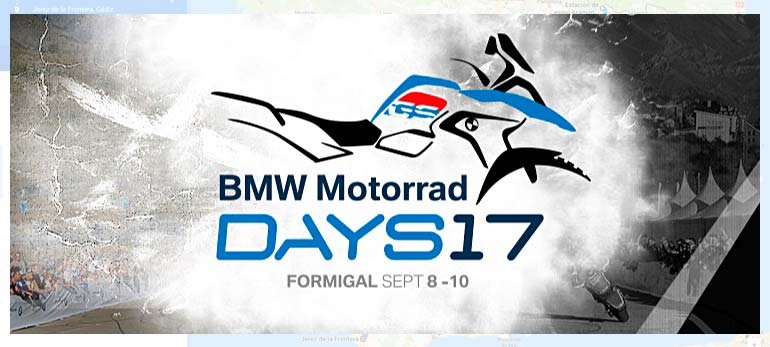 Concentración motera BMW Riders en Formigal 2017