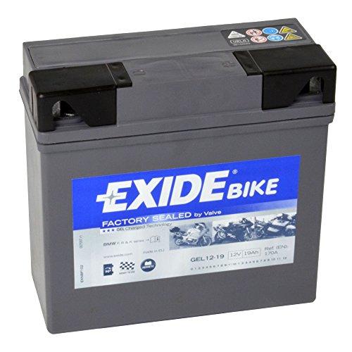 Batería para moto Exide 707 26 55 Gel