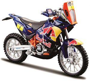 Miniatura Moto KTM 450 Red Bull DAKAR RALLY