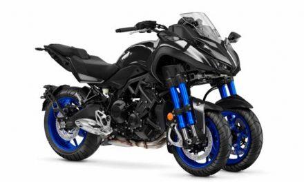 Yamaha Niken la moto de tres ruedas