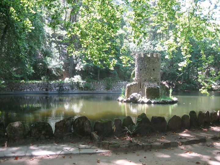 Sintra, jardines del Castillo DaPena