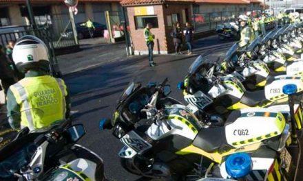 Las nuevas motos de la Guardia Civil con radares portátiles