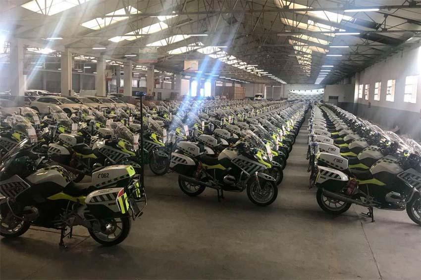 Nuevas motos de la Guardia Civil. BMW R 1200 RT