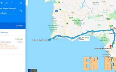 Viaje a Cabo San Vicente de ida y vuelta