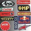 Conjunto de 11 parches bordados Karting
