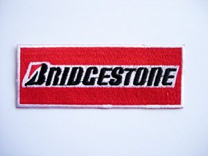 Parche bordado Bridgestone