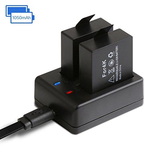Cargador APEMAN Acción batería 1050 mAh Recargables