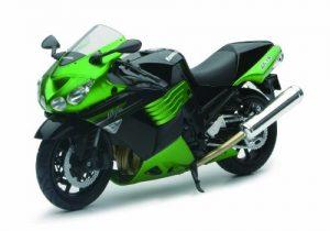 Miniatura Motocicleta Kawasaki ZX-14 2011