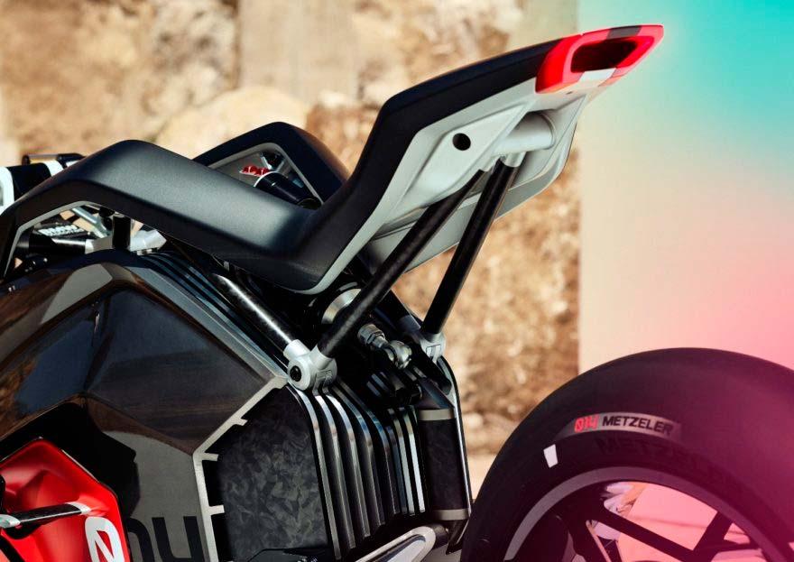 BMW Motorrad Vision DC Roadster. Entradas de aire