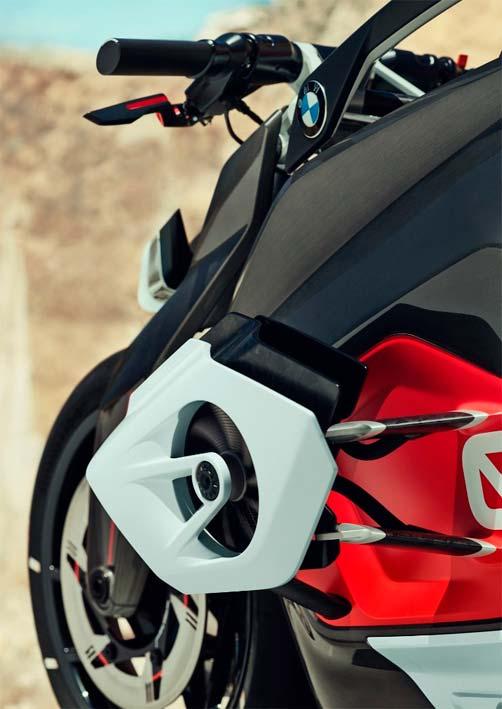 BMW Motorrad Vision DC Roadster. Ventiladores
