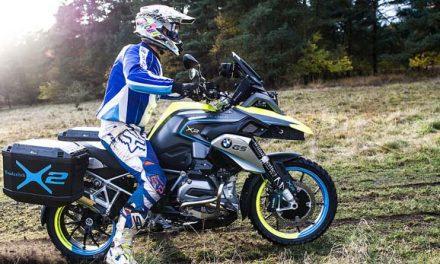 BMW patenta un sistema de doble tracción para motos
