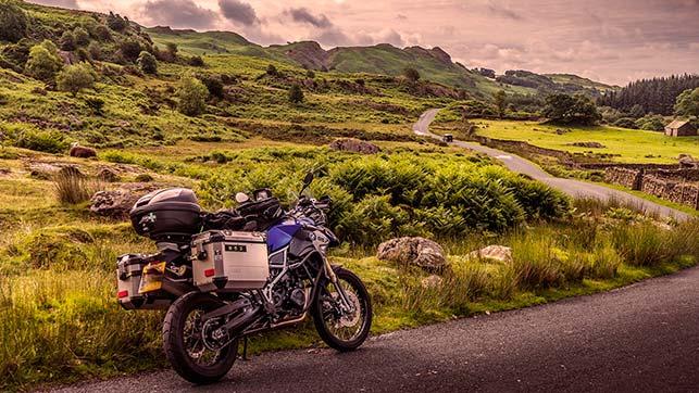 Cualquier moto es buena para viajar