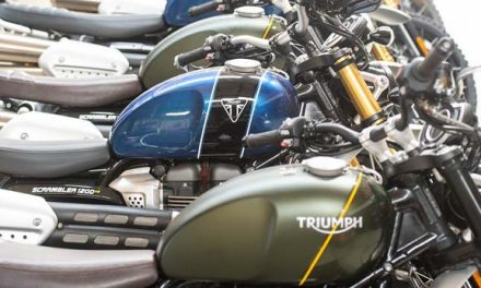 La nueva Triumph Scrambler 1200 XC y XE 2019