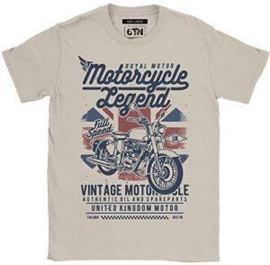 Camiseta 6TN Hombre Moto Legend