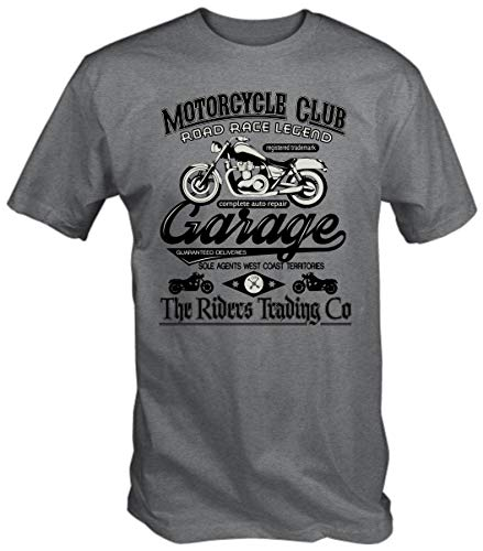 Camiseta 6TN Motocicleta Club