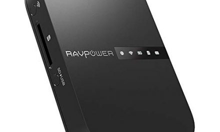 RAVPower FileHub Router – cinco dispositivos en uno