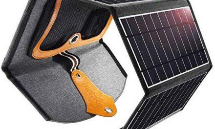 La utilidad del cargador solar CHOETECH