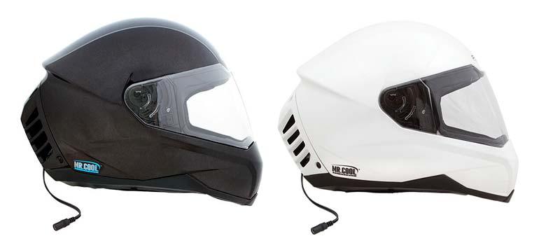 Feher ACH-1 el casco para moto con aire acondicionado