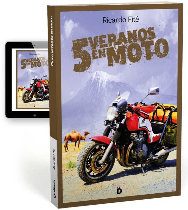 Ricardo Fité, su libro 5 veranos en moto