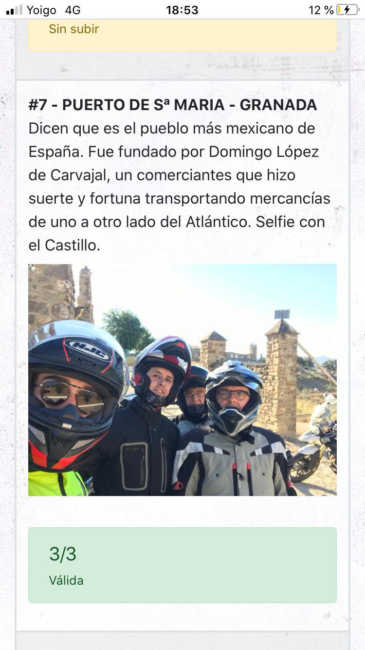 Recorrido Coast2Coast de Triumph del Puerto de Santa María a Granada