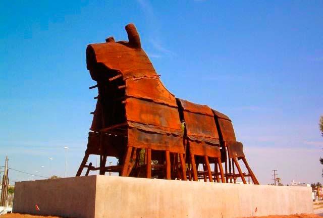 Toro oxidado