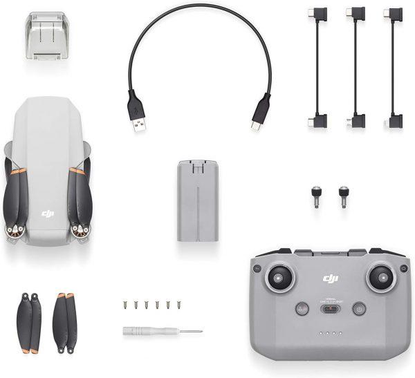 Dron DJI Mavic Mini 2 - ultraligero - portátil - 30 minutos de vuelo