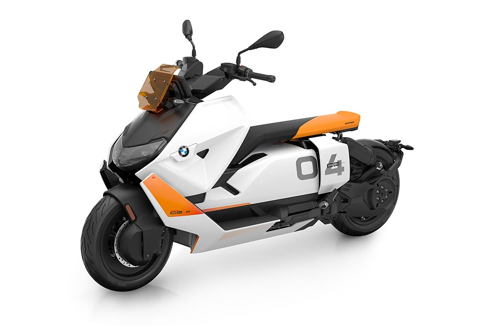 Nuevo Scooter eléctrico de BMW CE-04