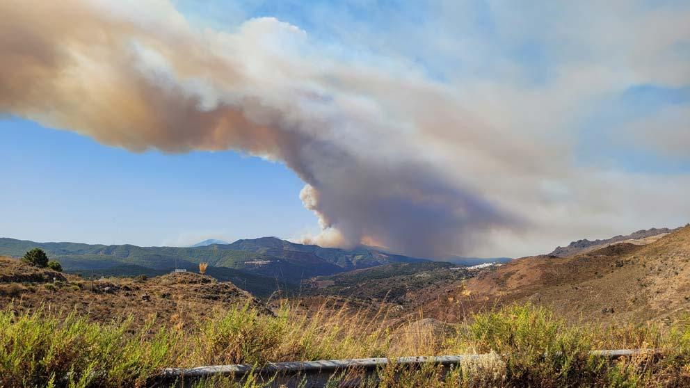 Incendio Sierra Bermeja.
