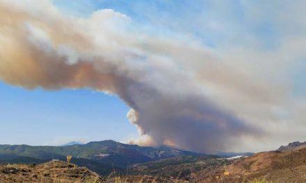 Incendio en Sierra Bermeja con 6 municipios desalojados